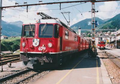 レーティッシュ鉄道アルブラ線・ベルニナ線と周辺の景観の画像 p1_27
