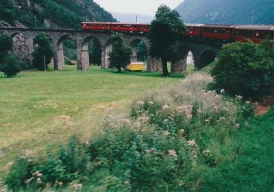 レーティッシュ鉄道アルブラ線・ベルニナ線と周辺の景観の画像 p1_19